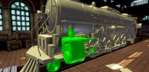 Train Mechanic Simulator 2017 pulls into Steamtion