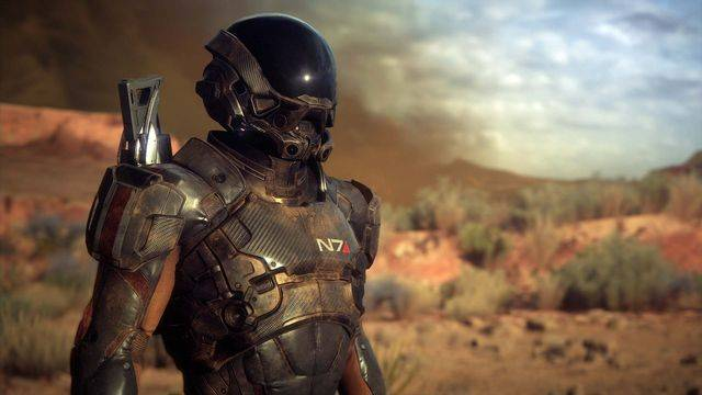 Mass Effect: Andromeda lets you wear Shepard's armor — but not everybody likes it