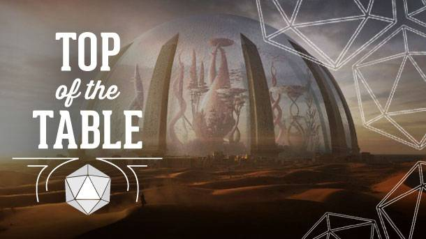 Top Of The Table – The Weird World Of Numenera