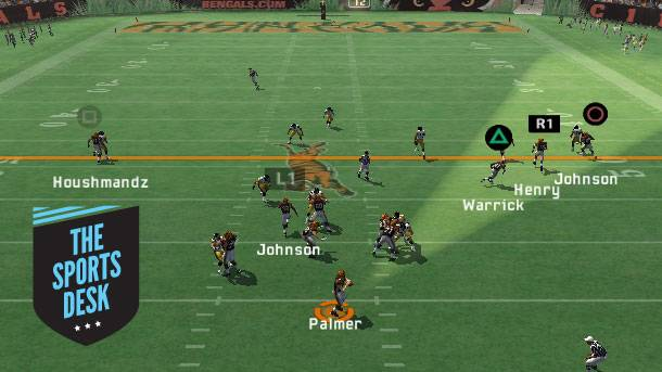 The Sports Desk – In Defense Of The Madden QB Vision Cone