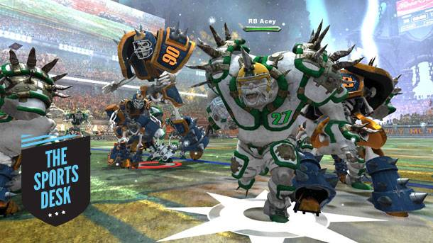 The Sports Desk – Hands-On With Mutant Football League