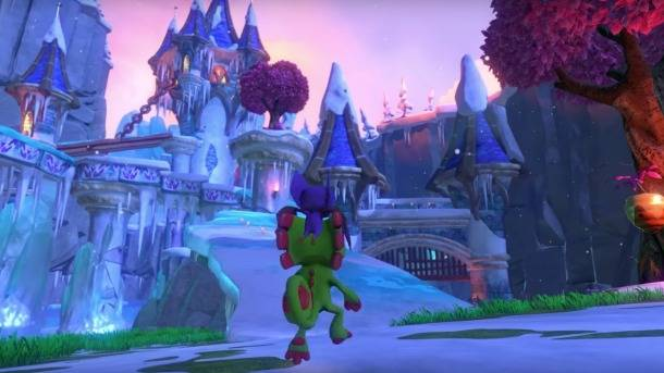 Hands-On Impressions Of Yooka-Laylee's Whimsical Snow World