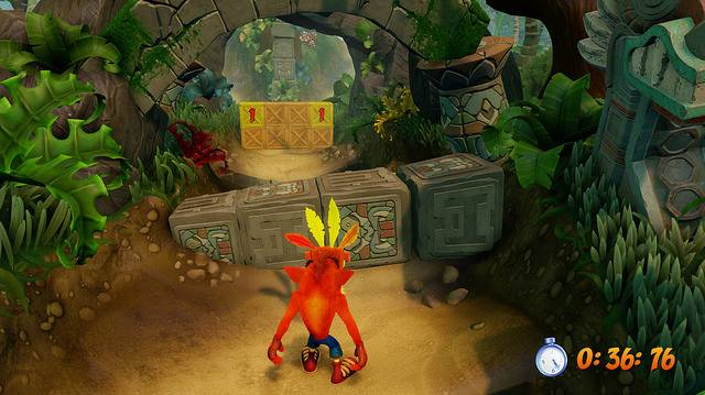 Here's What The N.Sane Trilogy Version Of Crash Bandicoot 2's Level Hang Eight Looks Like