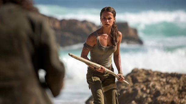 Here's What Alicia Vikander Looks Like As Lara Croft In The Upcoming Tomb Raider Movie