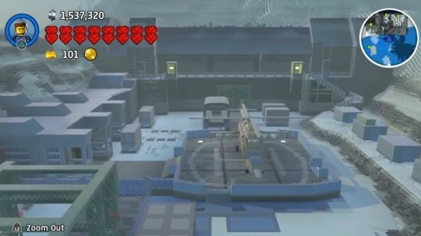 Metal Gear Solid's Shadow Moses Recreated In Lego Worlds