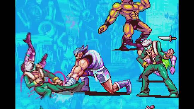 Some beautiful bastards are making a new Genesis beat-em-up