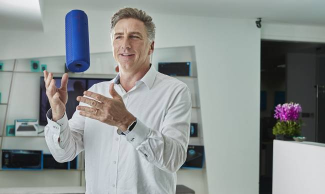 Logitech's CEO says you can innovate and be humble