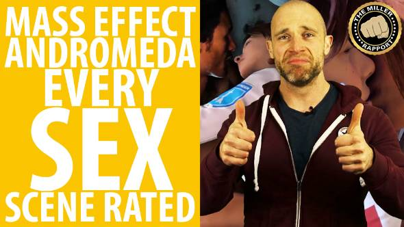 Rating Ryder's romping: Simon Miller reviews all the sex in Mass Effect: Andromeda