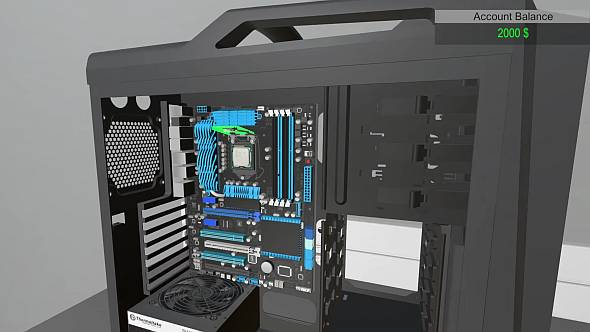Learn how to build a PC without electrocuting yourself in PC Building Simulator