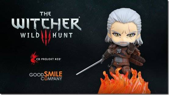 The Witcher 3 Geralt Nendoroid Announced