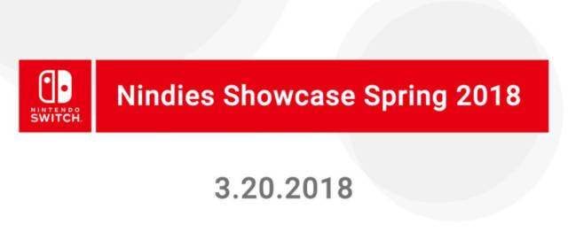 Nintendo Nindies Showcase Spring 2018 Next Week