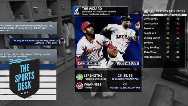 The Sports Desk – Discussing MLB The Show 18's Road To The Show Mode