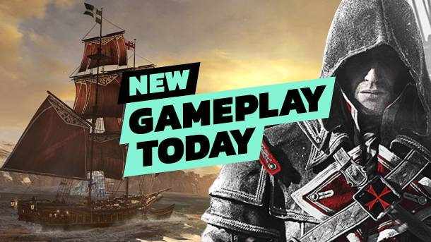 New Gameplay Today – Assassin's Creed Rogue Remastered