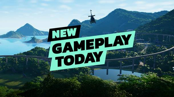 New Gameplay Today – Jurassic World Evolution