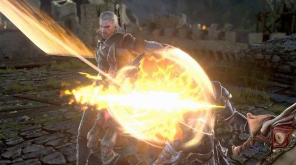 The Witcher's Geralt Of Rivia Steps Into Soul Calibur VI