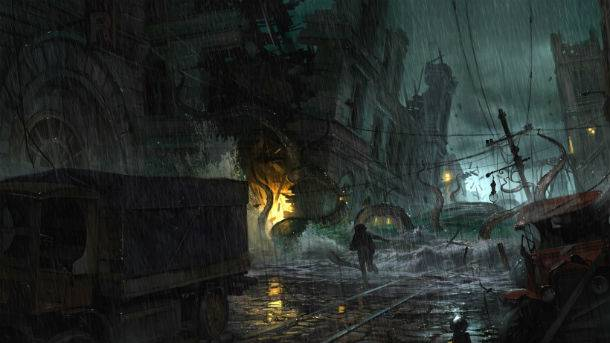 Exploring A Lovecraftian Open World