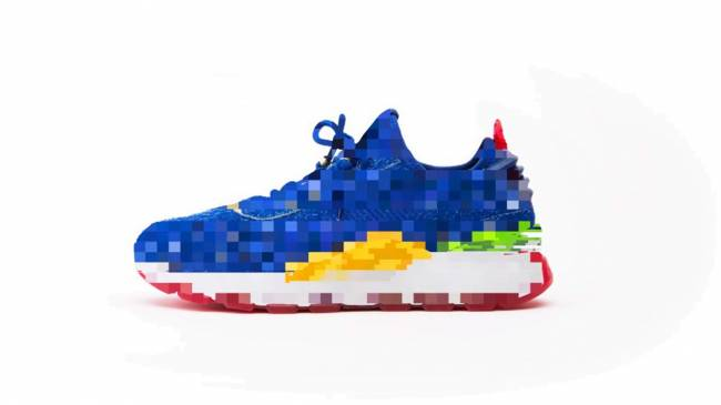 Feel the need for speed in these official Sonic-themed shoes
