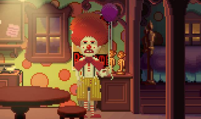 Thimbleweed Park's 'Ransome Unbeeped' DLC sends in the F-bomb clown