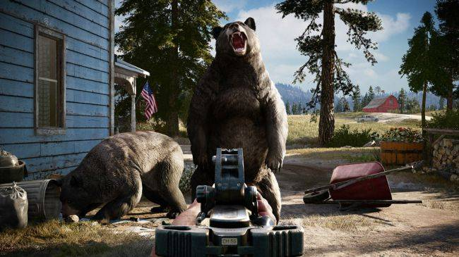 Bear witness to Far Cry 5's PC graphics options