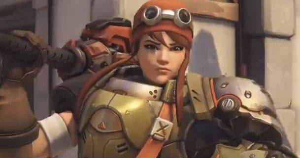 Check out the first of new Overwatch hero Brigitte's legendary skins