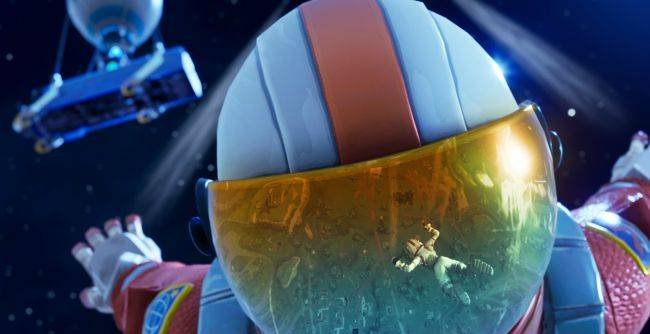 This Fortnite player backflipping onto a moving rocket proves parkour is alive and well