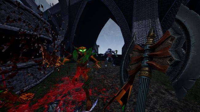 The Heretic-like fantasy FPS Amid Evil will arrive on Early Access next week