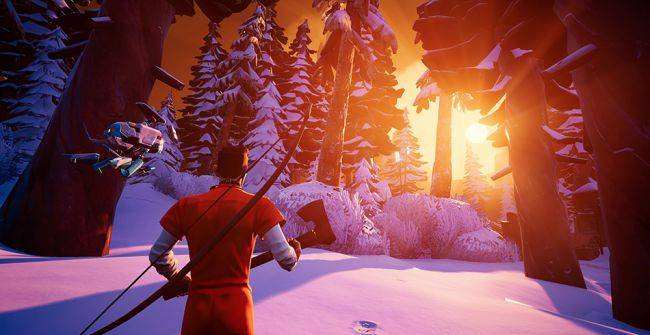 Snowy battle royale game Darwin Project sweeps into Early Access
