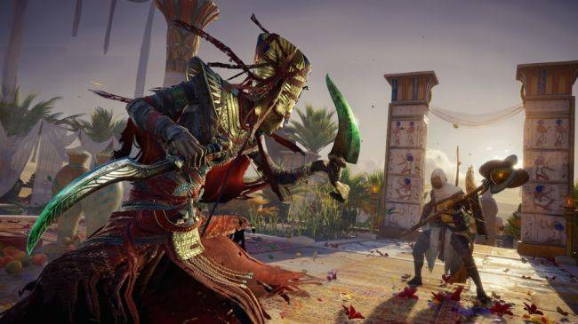 Assassin's Creed Origins The Curse of the Pharaohs DLC has a launch trailer