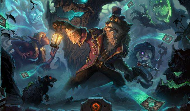 Hearthstone: The Witchwood expansion will have a Dungeon Run-style 'Monster Hunt' mode