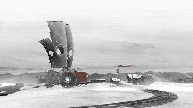 Far: Lone Sails, a land yacht journey across a barren desert, is coming in May