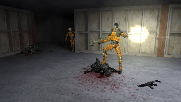Occult Scrim takes Half Life into the third-person and improves enemy AI