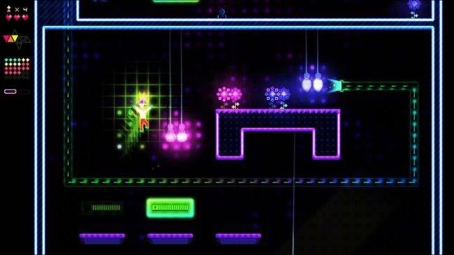 Nightmare disco platformer Octahedron gets free demo ahead of Tuesday release