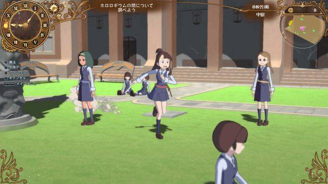Bandai Namco's Little Witch Academia RPG out in May