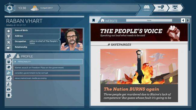 Final episode of government snooping sim Orwell: Ignorance is Strength is out now