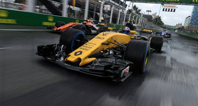 You can play F1 2017 for free until Sunday afternoon and then buy it for its cheapest ever price