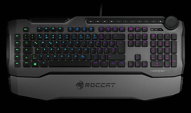 Roccat releases a gaming keyboard with 'membranical' key switches