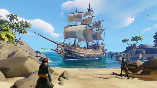 The first Sea of Thieves client update is a 19.53GB download