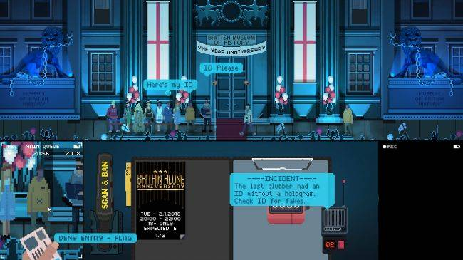 Not Tonight is a 'politically-charged satirical game' set in an alternate post-Brexit Britain