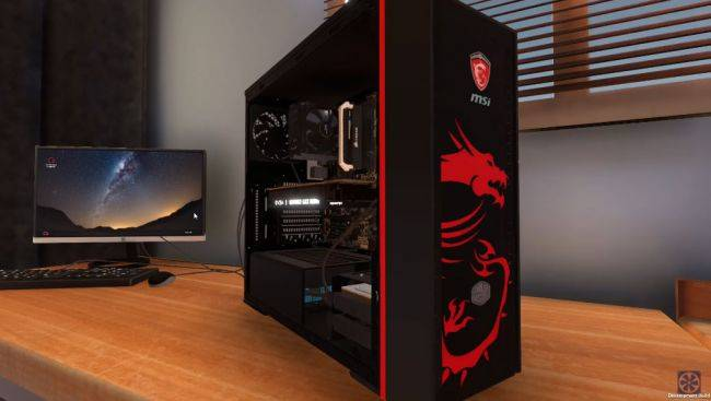 PC Building Simulator lands on Steam Early Access, overclocking support coming