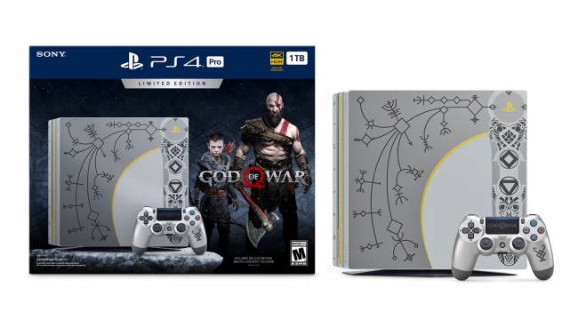 Sony's latest PS4 Pro bundle is an ode to 'God of War'