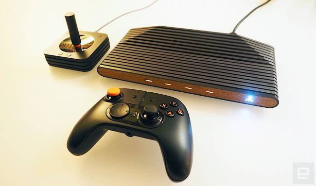 Atari shows its non-functional 'VCS' console prototype at GDC 2018