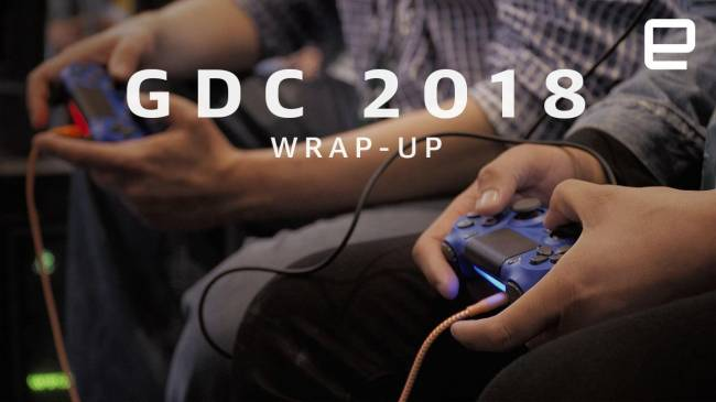 What we saw at GDC 2018!