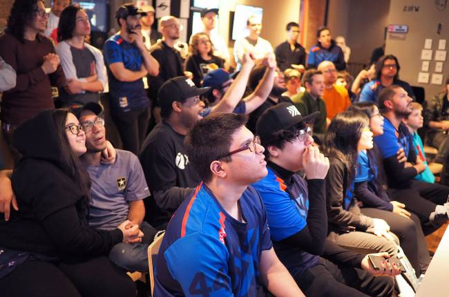 Cheers, chants, and 'Overwatch' at NYC's first eSports supporters club