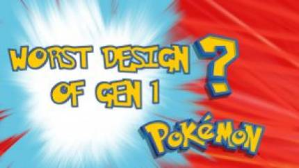 The Six Worst Designed Pokemon of Generation 1