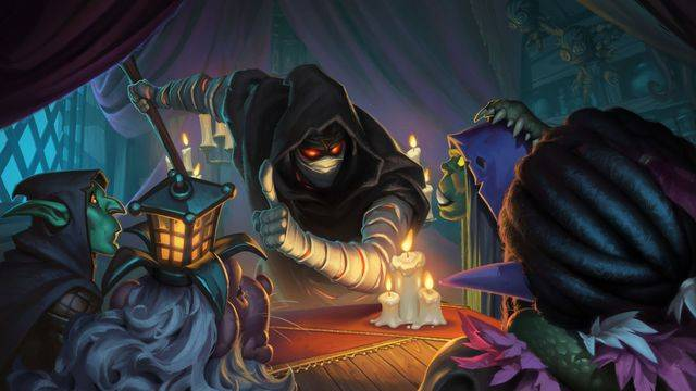 Hearthstone's new Rise of Shadows expansion lets the bad guys win