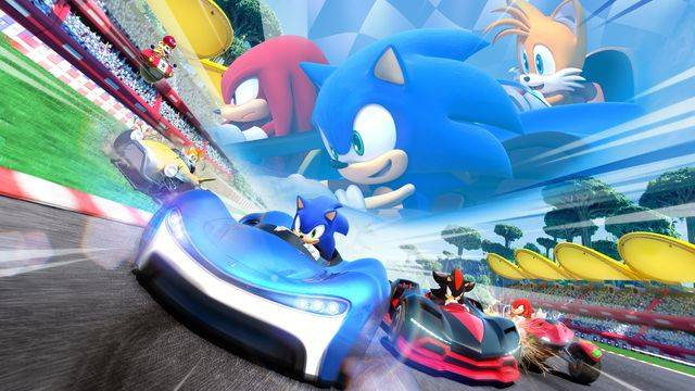 Team Sonic Racing shows off customizations and panel says next game is underway