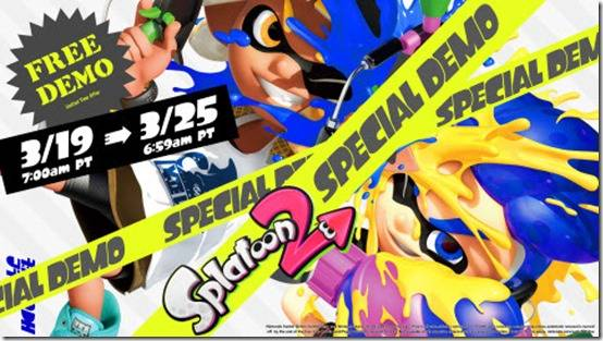 Splatoon 2 Special Demo Includes Free 7-Day Nintendo Switch Online Trial And A Discount
