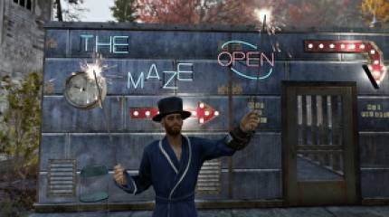 Meet the Fallout 76 player behind the Deathclaw maze, player oven and murder church