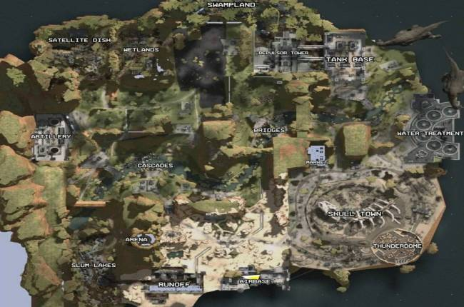 No One Noticed Apex Legends' Map Leaked A Year Ago