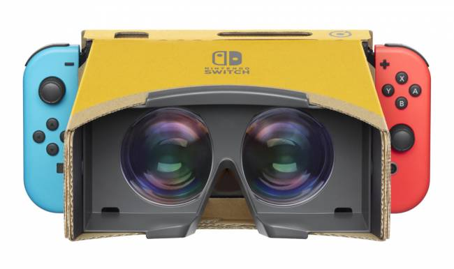 Nintendo Switch VR Headset Launches Soon As A New Labo Kit